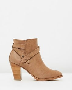 aa47476a048 Buy Giovanna Ankle Boots by SPURR online at THE ICONIC. Free and fast  delivery to