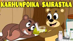 Suomen lastenlauluja | Karhunpoika sairastaa + monta muuta lastenlaulua