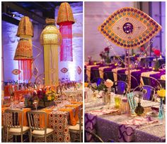 Boho Party Table Decor   BBJ Linen