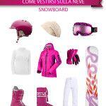 Come vestirsi sulla neve: consigli per un weekend in montagna http://www.milanoweekend.it/2014/03/04/come-vestirsi-sulla-neve-consigli-per-un-weekend-montagna/23863#.VBbROOkcRjo