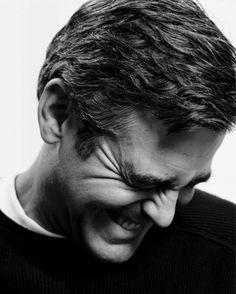 The Silver Fox: George Clooney George Clooney, I Smile, Make Me Smile, Guter Rat, Smiling People, The Descendants, Cinema, Hollywood, Star Wars