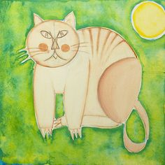 The cat and the moon by monica palermo