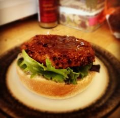 Carrot, Cumin & Kidney Bean Burger, 9p