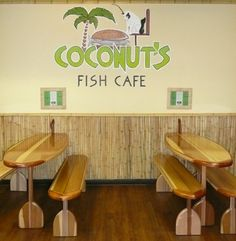 Coconut's Fish Cafe  347 reviews Rating Details   Categories: Fish & Chips, Sandwiches, Seafood  [Edit]   1279 S Kihei Rd  Kihei, HI 96753  (808) 875-9979   http://coconutsfishcafe.com/