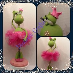 Princess the frog by Distinctcrafts on Etsy, $75.00