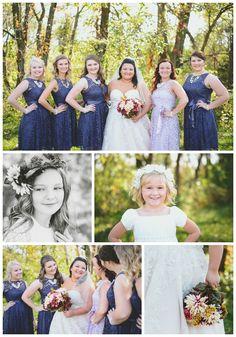 Bridal Party Photo Shoot | Ames, Iowa | Eastern Iowa Wedding Photography | Simply Radiant Wedding | Riley Curry