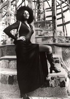 Pam Grier. Superbadass. Got a black belt in bar stools!