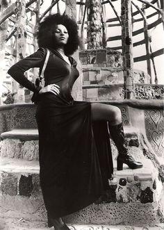 Pam Grier. Superbadass. Got a black belt in bar stools!