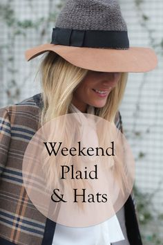 Weekends — the time to break out those adorable hats, cute plaids, and other chic combos that you don't wear during the week. When you mix and match hues and patterns correctly, you can look like a walking fashion plate every weekend. Look for hats that mix different textures, like a fedora with a leathery brim and a knit fabric crown. Did you find a precious plaid jacket? Pair it with a simple blouse and a short skirt or skinny jeans. Read on for more of eBay's ideas on weekend plaids and…