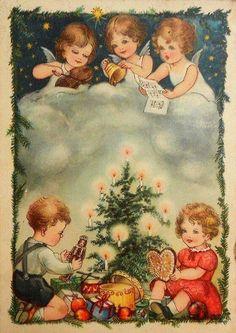 151 beste afbeeldingen van oude kerstplaatjes kerst. Black Bedroom Furniture Sets. Home Design Ideas