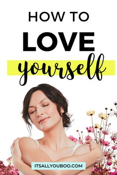 Do you need to learn how to love yourself? Dealing with issues of self-esteem and self-confidence? You're worthy of love and affection, especially from yourself. Click here for how to be your own best friend, including 4 self-love techniques. You've got to love yourself unconditionally first, before you can be in a relationship. Self-love is the truest love. Health Advice, Life Advice, Women's Health, Mental Health, Self Confidence Tips, Confidence Coaching, Self Development, Personal Development, Self Help Skills