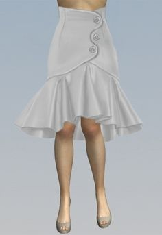 Skirt design by Amber Middaugh Cute Fashion, Fashion Outfits, Fashion Beauty, Mode Chic, Ballroom Dress, Dress Skirt, Bodycon Dress, Cute Skirts, Lolita Dress
