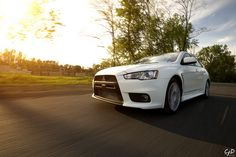 One Nice Evo X (think i will get one of those for my wife when i get older and i get married)