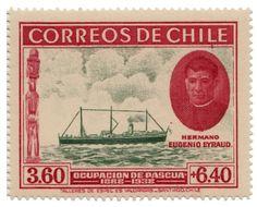 OCUPACION ISLA DE PASCUA 1940 SELLOS STAMPS # 265-266