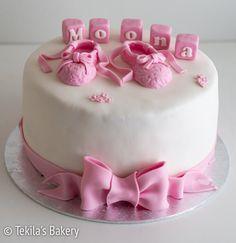 ballerinakakku. Cake for small ballerina #tekilasbakery http://www.tekila.fi/ballerinakakku/
