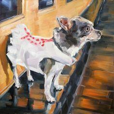 Taco Bella, painting by artist Nancy Spielman