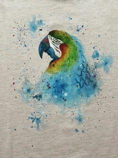 Papużka 💙 Parrot 👕