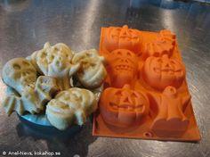 Recept - Halloweenmuffins