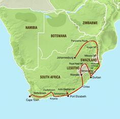 Südafrika Reise Safari - Best of Südafrika