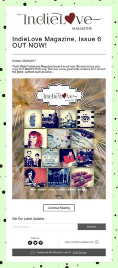 IndieLove Magazine, Issue 6 OUT NOW!
