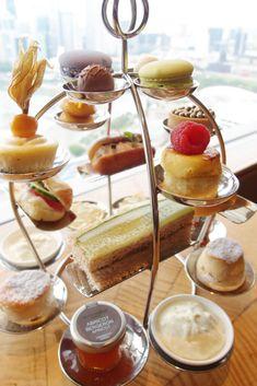 Ritz Carlton Singapore Afternoon Tea Set