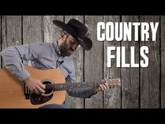 Country Rhythm Guitar Fill Riffs Up the Neck with 1st Position Scales - ...