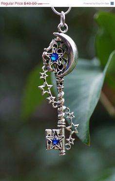 Galaxy Key Necklace by KeypersCove on Etsy, $36.00