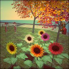 Sunflower PlantPets by Bruce Liebknecht, via Flickr