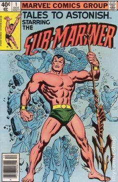 Tales to Astonish # 1 Serie Dezember 1979 Marvel Comics Grade NM - Comic Book Covers - Rare Comic Books, Comic Books For Sale, Comics For Sale, Comic Book Covers, Dc Comics, Marvel Comics Superheroes, Marvel Characters, Marvel Jokes, Frank Miller