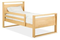 Made by a family-owned company in New York, these wood guardrails are designed for your child's safety during their transition to a big kid bed. These modern and exclusive guardrails seamlessly blend in with the rest of your child's bedroom. Available as a single guardrail or as a set so you can easily install them on your preferred side or both sides of our Dayton bed.