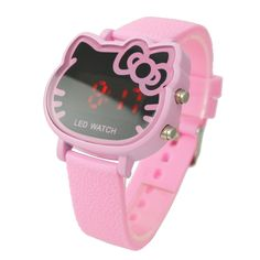 New Arrive Items Cute pink Hello kitty Led Digital Watch For Women / Girls Fashion Wrist Watch Hours Best Gift 5 Colors-in Wristwatches from. Hello Kitty Rosa, Sanrio Hello Kitty, Hello Kitty Fotos, Hello Kitty Cartoon, Hello Kitty Themes, Hello Kitty Desenho, Hello Kitty Imagenes, Hello Kitty Jewelry, Hello Kitty Accessories
