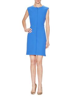 Zip Front Sheath Dress from Dress Shop: Appropriate Anywhere Dresses on Gilt
