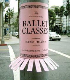 Ballet classes... sign me up!