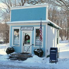 US Post Office by Clark Westfield, via Flickr