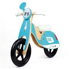 Kit scooter pour premier vélo - Mon premier vélo devient un scooter !  Un kit original pour une draisienne sur mesure Avec des décorations et des accessoires