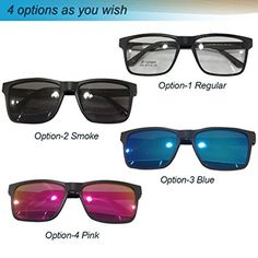 8fc54b39a2f Amazon.com   Yodo Optical Frame with Magnetic Polarized Sunglasses for Women  and Men Driving