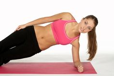 Exercises At Home: 10 Ways To Lose Weight Without Equipment – control de peso y pérdida de peso Oblique Exercises For Women, Best Abdominal Exercises, Oblique Workout, Plank Workout, Ab Exercises, Weight Exercises, Best Core Workouts, Gym Workouts Women, At Home Workouts