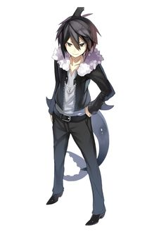 Tsundere shark husband *hugs* he is mine The Gray Garden, Shark Games, Alice Mare, Rpg Horror Games, Grey Gardens, Handsome Anime, Tsundere, Cosplay, Manga Boy