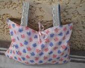Sac déco et rangemet romantique campagne : Autres sacs par peche-et-dentelle