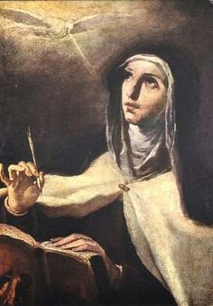 Saints in Rome & Beyond!: St Teresa of  AVILLA first class relics in Rome
