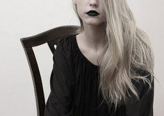 Black clothes black lipstick