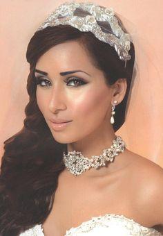 Our showcase headdress TR1690A in Khush Wedding Summer Issue.