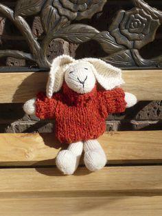 Debbie Bliss pattern - knitted rabbit