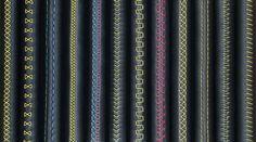 12 видов швов для перетяжки руля, ручки КПП и стояночного тормоза