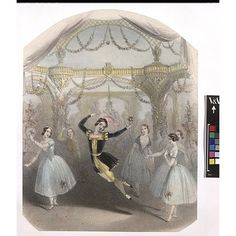 """""""The most amazing, the most extraordinary, the most aerial dancer that has ever been seen,"""" John Brandard, about 1845. Victoria and Albert Museum"""