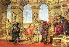 When you dream deep in old paintings and shit gets weird. #deepdream #apelles #trippy #psychedelic #surreal #wtf #hamonrye #holdthemayo #fuckthewalrusimthepenguin by colt.classics