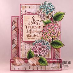 Golden Inkspirations: Our Daily Bred Designs January 2018 Release - In My Heart Stamp/Die Duo, Romantic Roses Paper Pad, Dies: Center Step A2 Card, Center Step A2 Layers, Layered Lacey Squares, Squares, Small Bow