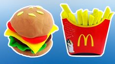 Play Doh Cookout  make Play-Doh Burger Hamburger Playdough | Video for kids