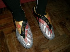 Customised Adidas Predator Power Swerve