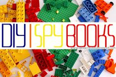 I Spy Books - a cute project, maybe for when they get a bit older...